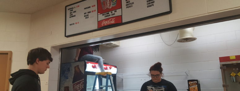 2016: High School Indoor Concession Stand