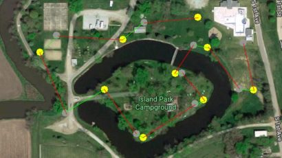 Brink Memorial Park Disc Golf Course
